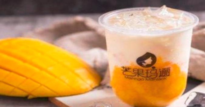 芒果玛逦奶茶加盟_3